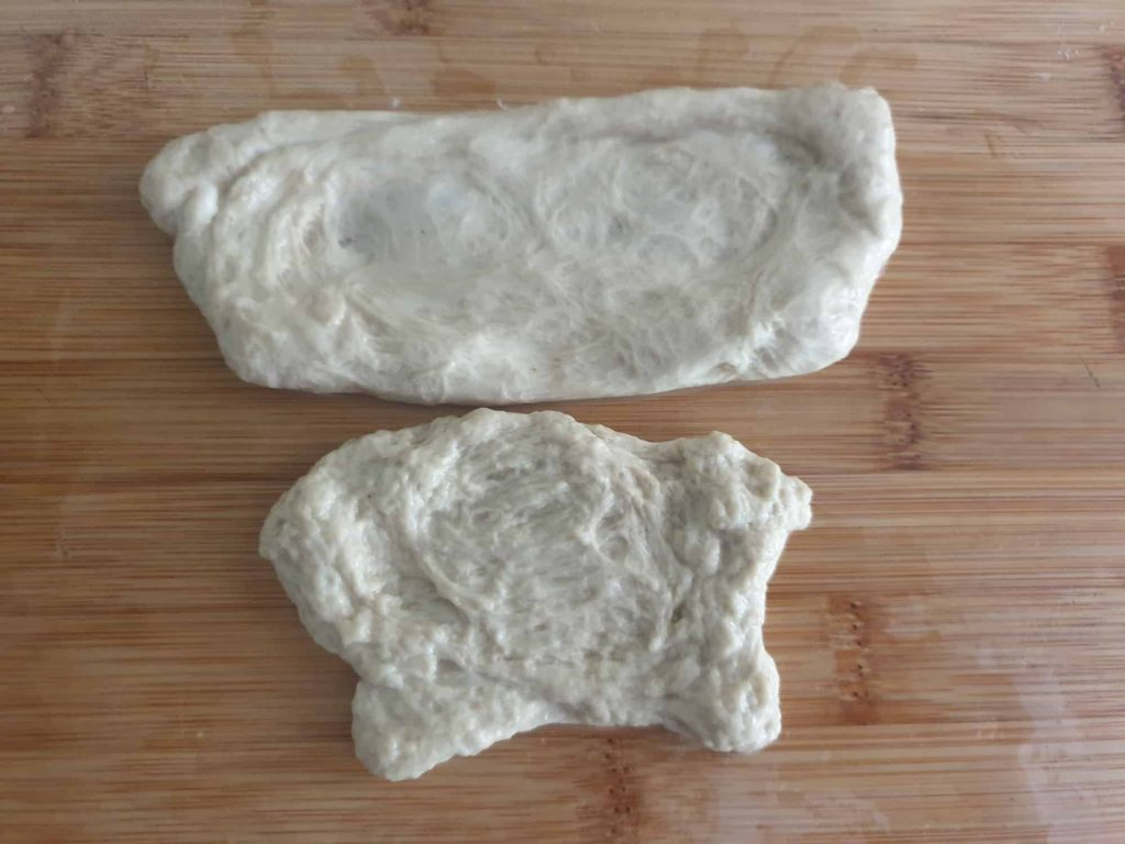 Comparison of expensive and cheap flour gluten